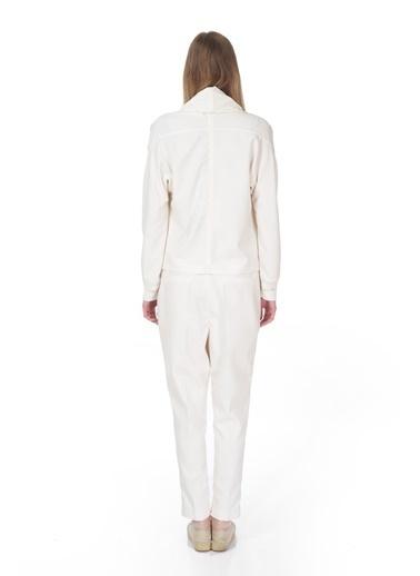 Tuba Ergin Ceket Beyaz